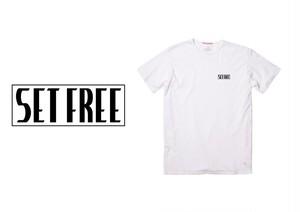 Set Free Box Logo Tee (白)