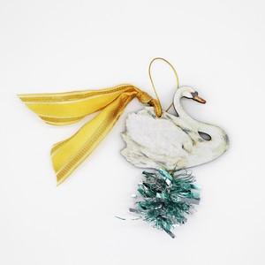 Christmas Ornament_白鳥