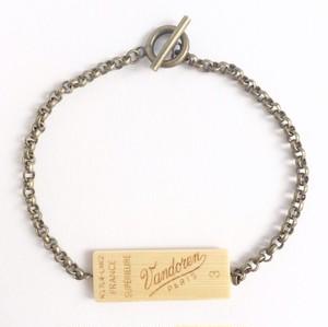 シングルリードのメンズ用リバーシブルブレスレット Reversible single reed bracelet ( L ) for Men's