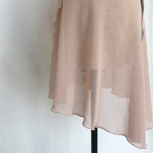 "◇""Tatiana"" Ballet Wrap Skirt -  Lady Pink [Sheer](レディ・ピンク [シアー])"