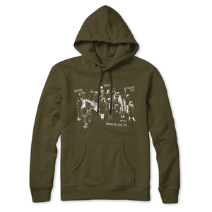 Hoodie (OLIVE) Someone will love you
