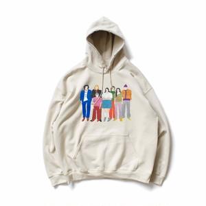 Family hoodie( sand )