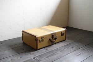 レトロな旅行鞄 トランクケース 鍵付き 古道具