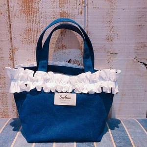 Fluffy bag2(Navy)