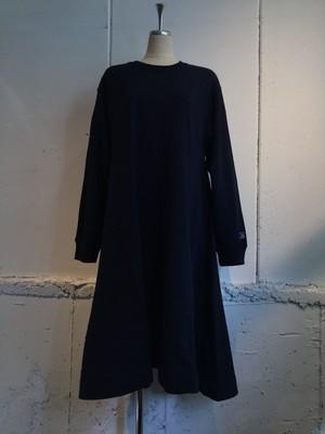 k3&co. RUSSELL×k3&co. SWEAT DRESS (NAVY)