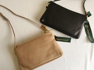 【再入荷】Amparsand soft pochette bag/ソフトポシェット/ミニショルダーバッグ