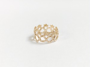 Yularice Lace ring Edging 14.5 K10gold