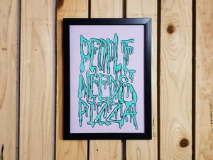 PIZZA Related ART(原画)Lot.6