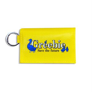 Tarpaulin wallet【Yellow】