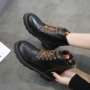 【shoes】定番無地韓国系合わせやすい人気ブーツ23186651