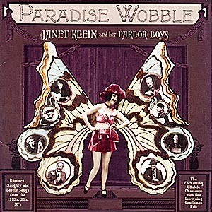 CD「PARADISE WOBBLE / JANET KLEIN & HER PARLOR BOYS」