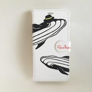 iPhone ケース 【クジラ 】(X/XS )(8)(7)(6/6s)(5/5s/SE)