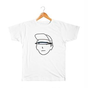 秋刀魚の人 キッズTシャツ
