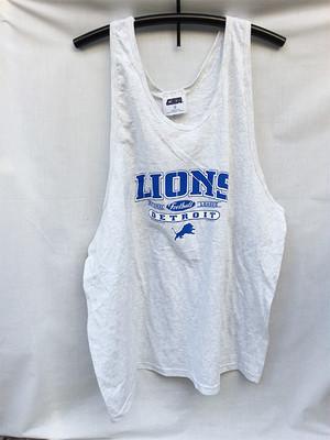 DETROIT LIONS NFL デトロイト ライオンズ タンクトップ ゲームシャツ XL 993