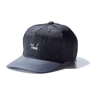 VERDE  QUILT  AROMA CAP(ヴェルデ キルティング アロマキャップ) BLACK