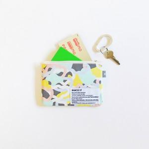 Multicolor Camo Mini Pouch