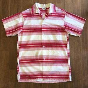 50's penney's×compass open collar shirt