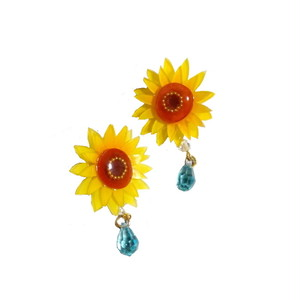 夏花の耳飾り