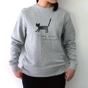 2色展開【スウェット】オリジナルデザイン「black cat?」