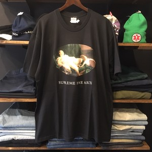【SUPREME】 -シュプリーム-SS19 LEDA AND THE SWAN TEE BLACK