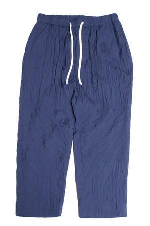 Calf-length Bias Pants -navy <LSD-BA1P1>