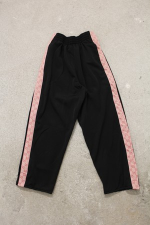 Off-Canal St NY / GC Custom Side Line Track Pants Black / Pink