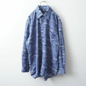 CLAUDIO VALENTINO polyester shirt