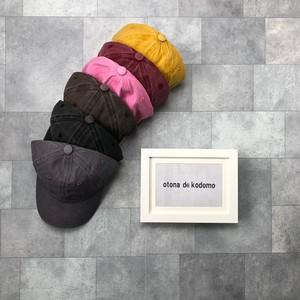 ヴィンテージ加工キャップ(6カラー)no.1809097 #子供服 #子ども服 #男の子 #女の子 #キャップ