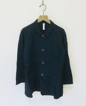 【prit】リネンデニムワークジャケット/81807