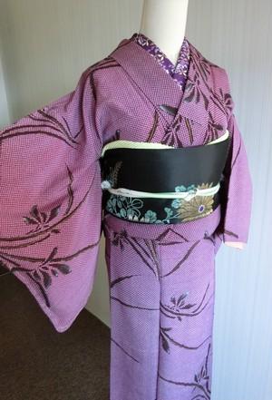昭和レトロ 粋でモダン はんなり着物