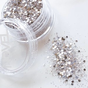 NOVEL original glitter ( Champagne silver )