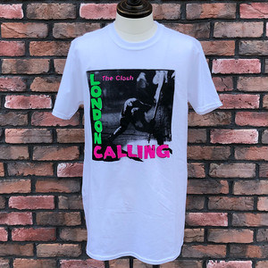 Deadstock The Clash London Calling T-Shirt White Medium