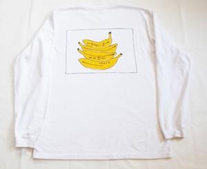 後ろのバナナ ロンT