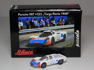 Schuco ピッコロ ポルシェ 907 ショートテール 1968年 タルガフローリオ #222