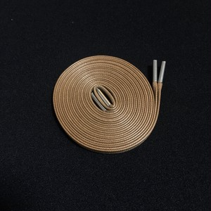WAXED SHOELACE (FLAX/silver)