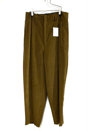 HOUSE OF THE VERY ISLAND'S wide tapered corduroy slacks