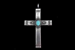 Life snake turquoise cross