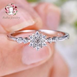 s925 luxury star flower(ring)