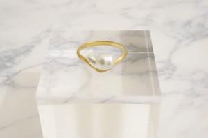 cloud shaped ring −K10−