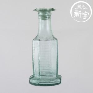 大正末期 ガラスの醤油差し/ソース差し(八角)