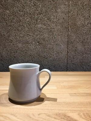 《作家名・阿南維也》 白磁 マグカップ