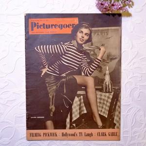 """1952年 イギリス映画雑誌 """" Picturegoer """"  6月21日号   [OV-11]"""