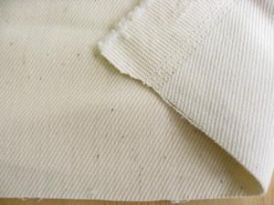 綿ストレッチソフトデニム 10~11オンス 生成り(綿カスが残っています) CTN-0177