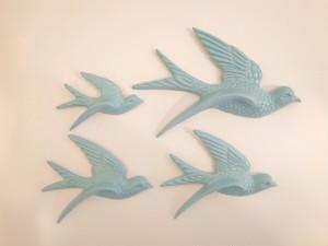Flying Birds ダークブルー