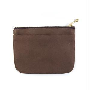 mini財布【ブラウン】