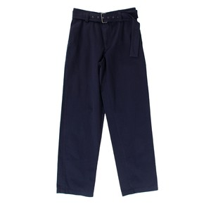 JW ANDERSON Navy Cotton Trousers