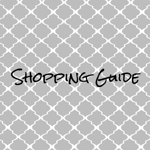 《 Shopping Guide 》