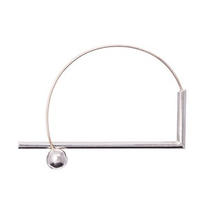Loop & Box: BALL&CYLINDER BANGLE (EDGE)