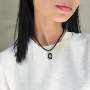 MOSCHINO 2 way tree necklace