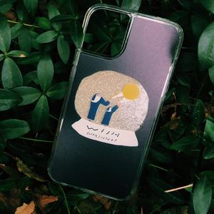 【iphone11/11pro】修道士グリッターケース